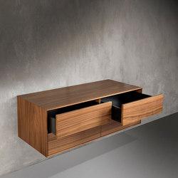 Salone | Waschtischunterschränke | Dade Design AG concrete works Beton