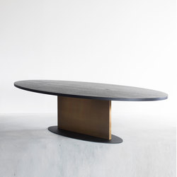 Opium oval table | Esstische | Van Rossum