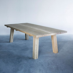 Woud dining table | Dining tables | Van Rossum