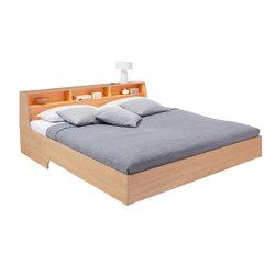 Slope bed oak veneer | Camas | Müller Möbelwerkstätten