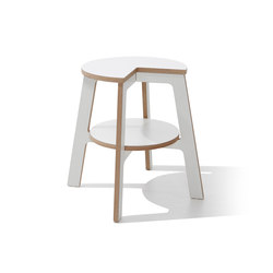 Walker step stool CPL white | Taburetes | Müller small living