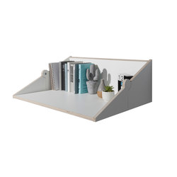 Twofold bureau CPL white | Shelving | Müller small living