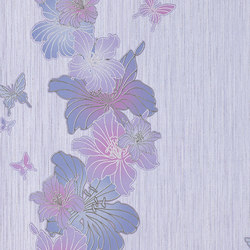 Versailles - Papel pintado flores EDEM 108-34 | Revestimientos de paredes / papeles pintados | e-Delux