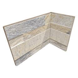 Cubics Beige | Angolo Interno Incollato | Ceramic tiles | Rondine