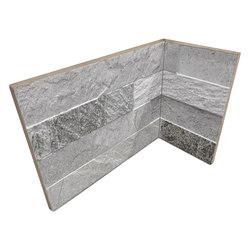 Cubics Grey | Angolo Interno Incollato | Ceramic tiles | Rondine
