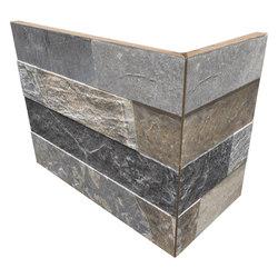 Cubics Multicolor | Angolo Esterno Incollato | Ceramic tiles | Rondine