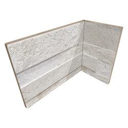 Cubics White | Angolo Interno Incollato | Ceramic tiles | Rondine