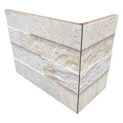 Cubics White | Angolo Esterno Incollato | Ceramic tiles | Rondine