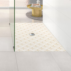ViPrint Inspired By Geometry | Shower trays | Villeroy & Boch