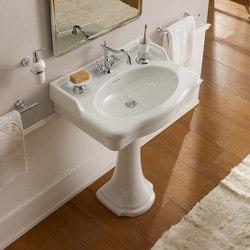 Castellana | Pedestal | Wash basins | Scarabeo Ceramiche