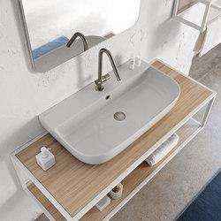 Glam | 75/S | Wash basins | Scarabeo Ceramiche