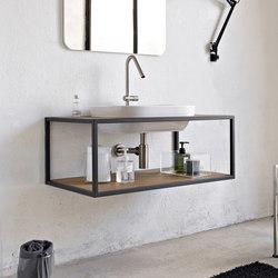 Frame | Waschtischunterschränke | Scarabeo Ceramiche