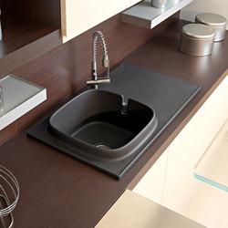 Up | Kitchen sinks | Scarabeo Ceramiche