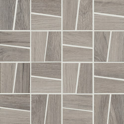 Ever Greige | Trapezi Mosaico | Mosaici ceramica | Rondine