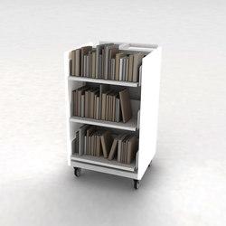 Chariot | Bücherwagen | IDM Coupechoux