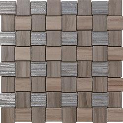 Georgette Briar Taupe | Weave | Mosaicos de cerámica | Rondine