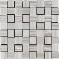 Georgette Pearl Light | Weave | Ceramic mosaics | Rondine
