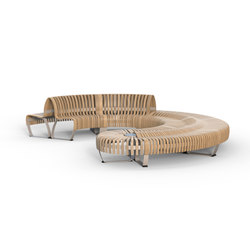 Nova C Double bench | Bancs | Green Furniture Concept