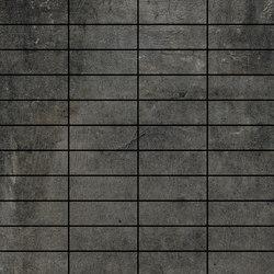 Icon Black | Mosaico Mattoncino | Mosaïques céramique | Rondine