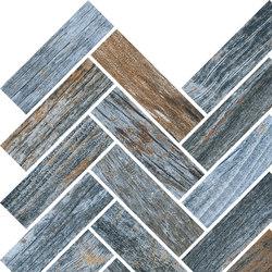 Inwood Blue | Mosaico Spina | Mosaïques céramique | Rondine