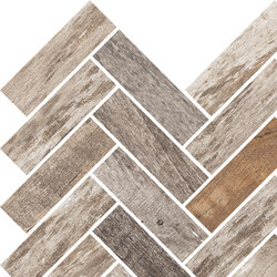 Inwood Dark Grey | Mosaico Spina | Ceramic mosaics | Rondine
