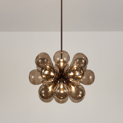 Cintola Maxi Pendant satin bronze | Lámparas de suspensión | Tom Kirk Lighting