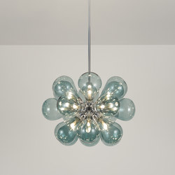 Cintola Maxi Pendant polished aluminium | General lighting | Tom Kirk Lighting