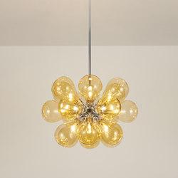 Cintola Maxi Pendant polished aluminium | General lighting | Tom Kirk Lighting