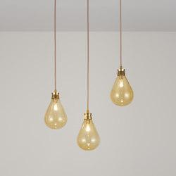 Cintola Pendant satin gold | General lighting | Tom Kirk Lighting
