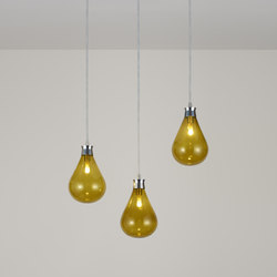 Cintola Pendant polished aluminium | Suspended lights | Tom Kirk Lighting
