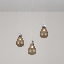 Cintola Pendant polished aluminium   Suspended lights   Tom Kirk Lighting