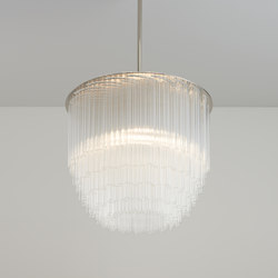 Disc Chandelier | Pendelleuchten | Tom Kirk Lighting