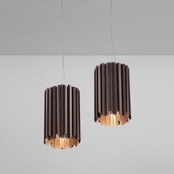 Facet Pendant satin bronze | Suspended lights | Tom Kirk Lighting
