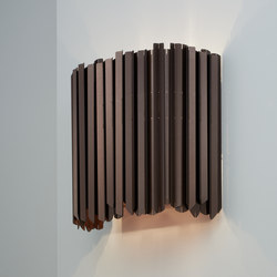 Facet Wall Light satin bronze | Wall lights | Tom Kirk Lighting
