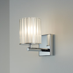 Flute Wall Light chrome | Appliques murales | Tom Kirk Lighting