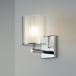 Flute Wall Light XL polished chrome | Wall lights | Tom Kirk Lighting