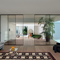 Sherazade Slide | Internal doors | Glas Italia
