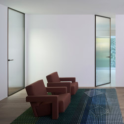 Aladin Swing Plain Duo | Internal doors | Glas Italia