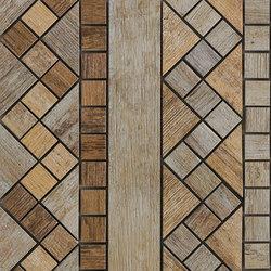 Metalwood Beige | Fascia | Mosaïques céramique | Rondine
