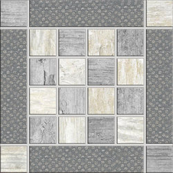 Metalwood Grey | Inserto | Carrelage céramique | Rondine