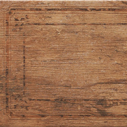 Metalwood Tobacco | Bordo Mix | Piastrelle ceramica | Rondine