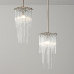 GS Pendant brushed nickel | Suspended lights | Tom Kirk Lighting