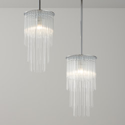 GS Pendant polished chrome | Suspended lights | Tom Kirk Lighting