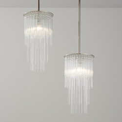 GS Pendant nickel | Suspended lights | Tom Kirk Lighting