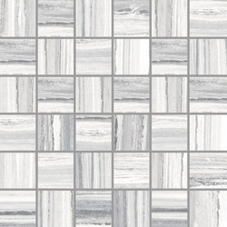 Palissandro Light Grey | Mosaico | Ceramic mosaics | Rondine
