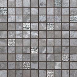 Pietre Di Fiume Antracite | Mosaico Mix | Mosaici ceramica | Rondine