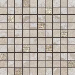Pietre Di Fiume Beige | Mosaico Mix | Ceramic mosaics | Rondine