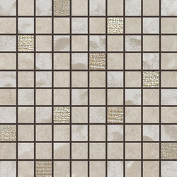 Pietre Di Fiume Beige | Mosaico Mix | Mosaicos de cerámica | Rondine