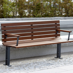 Kajen backed bench | Bancs publics | nola
