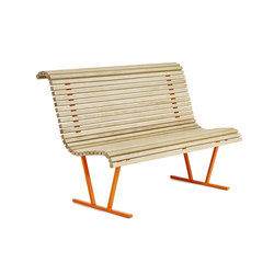 Cane backed bench | Bancos | nola